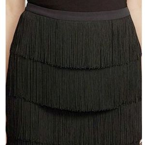NWT Lauren 4 layer fringe skirt